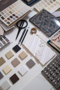 Kleur/materialenplan