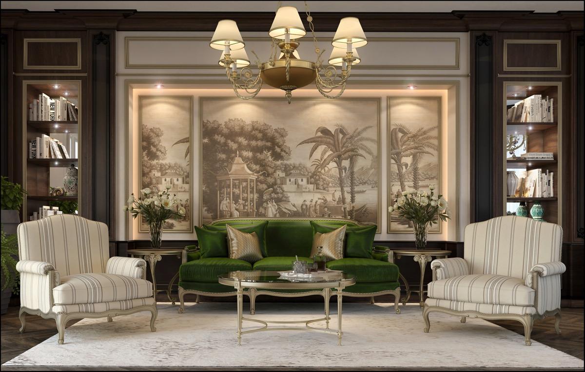 klassieke interieurs